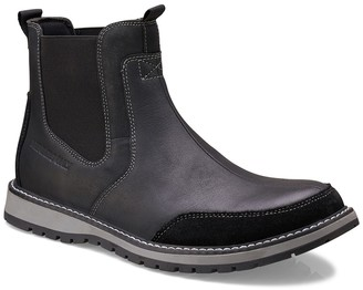 Members Only Slip-On Leather Chelsea Boot