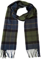 Barbour Holden Tartan Scarf Green/navy