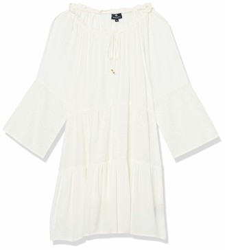 Sperry Women's Ruffle Tie Front Cover Up