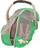 Petit Coulou Summer Car seat cover - Protect your baby from disease-carrying insects, wind and rain and UVs - Reduce Zika, Lyme and Nile transmission risks!