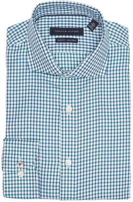 Tommy Hilfiger Plaid Print Slim Fit Dress Shirt
