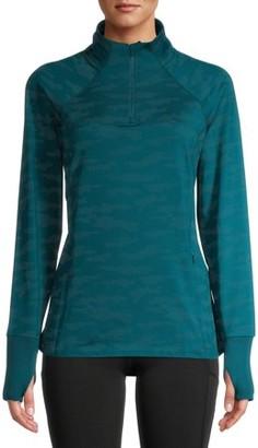 Avia Women's Active Brushed 1/4 Zip Pullover