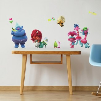 Room Mates RoomMates Trolls World Tour Peel and Stick Wall Decals