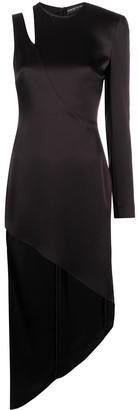 David Koma Cut-Out Detail Dress