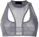 Andrea Bogosian - lace bra - women - Polyimide/Spandex/Elastane - P