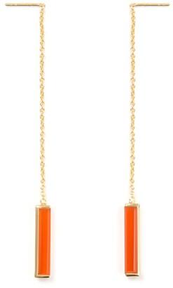 Urban Earrings Red Onyx