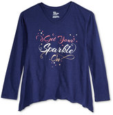 Epic Threads Long-Sleeve Graphic T-Shirt, Big Girls (7-16), Only at Macy's