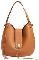 Rebecca Minkoff 'Darren' Leather Hobo Bag - Brown
