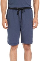Daniel Buchler Men's Stripe Pima Cotton & Modal Lounge Shorts