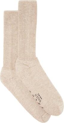 Falke Walkie Ergo Wool-blend Socks - Beige