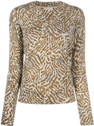 Forte Forte Stripe-Patterned Cashmere Jumper