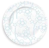 Blue Flora Serving Plate