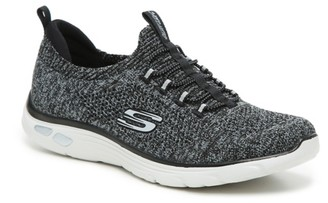 Skechers Relaxed Fit Empire D'Lux Sharp Witted Slip-On Sneaker - Women's