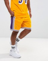 Mitchell & Ness Nba L.a. Lakers Swingman Shorts
