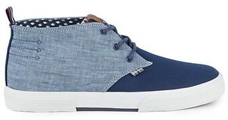 Ben Sherman Bristol Colorblock Mid-Top Sneakers