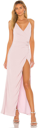 superdown Belle Slit Maxi Dress
