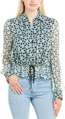 Diane von Furstenberg Pilla Silk Top