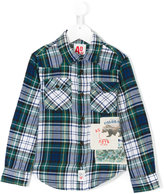 American Outfitters Kids collared plaid shirt
