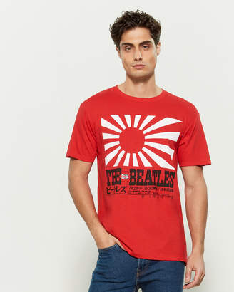 Bravado The Beatles Rising Sun Short Sleeve Tee