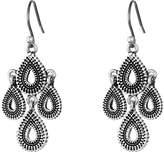 Lucky Brand Blue Moon Moveable Tribal Chandelier Earrings Earring