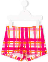Il Gufo check shorts
