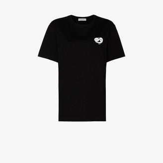 Givenchy large back logo cotton T-shirt