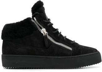 Giuseppe Zanotti Side Zip Low-Top Sneakers