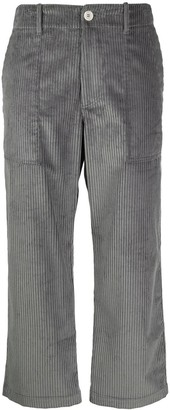 Jejia Cropped Corduroy Trousers