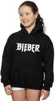 Justin Bieber Girls Simple Logo Hoodie
