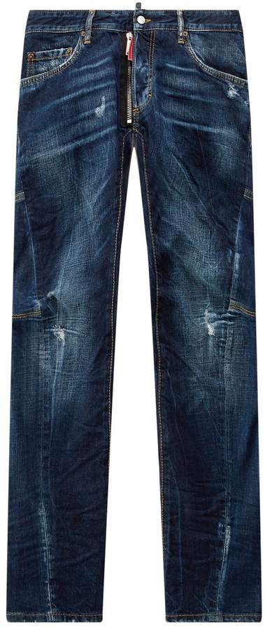 DSQUARED2 Be Cool Biker Jeans