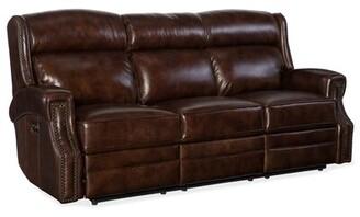 Hooker Furniture Carlisle Leather Reclining Sofa