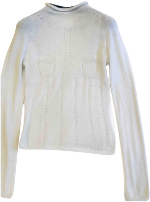 Chanel Silver Cashmere Knitwear