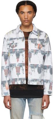424 Multicolor Denim Runway Jacket