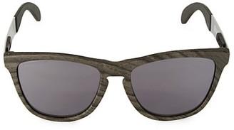 Oakley 55MM Frogskins Mix Woodgrain Sunglasses