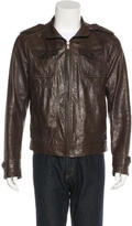 Prada Leather Flight Jacket