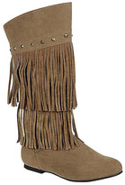 Refresh Taupe Fringe & Stud Join Boot