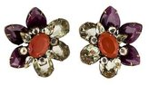 Iradj Moini Floral Clip-On Earrings
