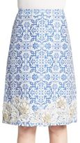 Creatures of the Wind Styrex Embellished Jacquard Skirt