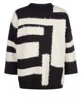 Jaeger Laboratory Graphic Sweater