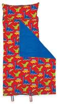 Stephen Joseph Allover Dino Print Nap Mat Red/Blue