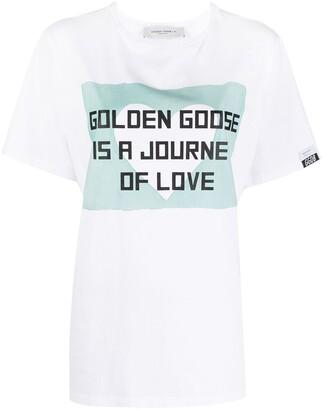 Golden Goose slogan-print T-shirt