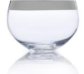 Mikasa Serenity Platinum Large Glass Bowl
