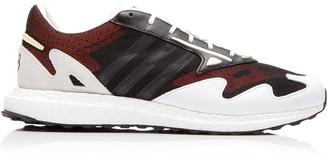 Y-3 Rhisu Run Leather Sneakers