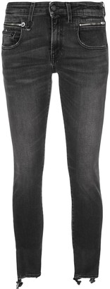 R 13 Low Rise Skinny Jeans