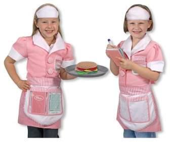 Melissa & Doug Toddler Girl's 'Waitress' Costume