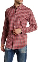 Pendleton Long Sleeve Gingham Heathered Classic Fit Shirt