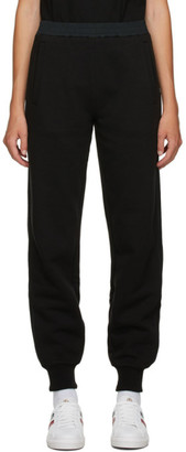Moncler Black Jersey Lounge Pants