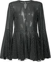 Rosetta Getty point d'esprit blouse