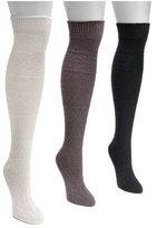 Muk Luks Women's Diamond Knee High Socks