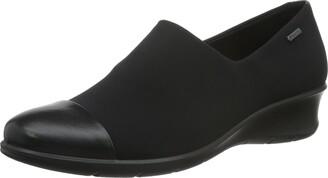 Ecco Women's Women's Felicia GTX Slip Black/Black 36 EU/5-5.5 M US